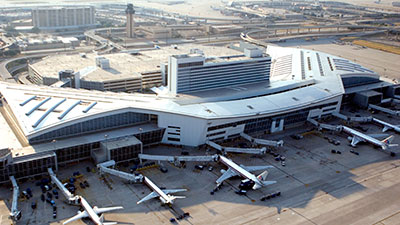 Dallas-Fort Worth airport (DFW)