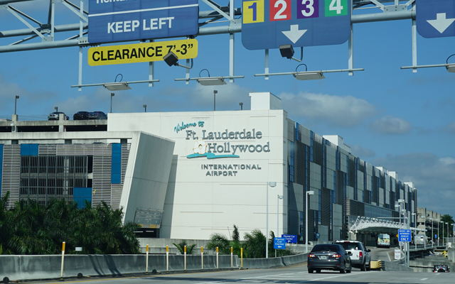 Fort Lauderdale airport (FLL)