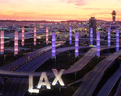 Los Angeles airport (LAX)