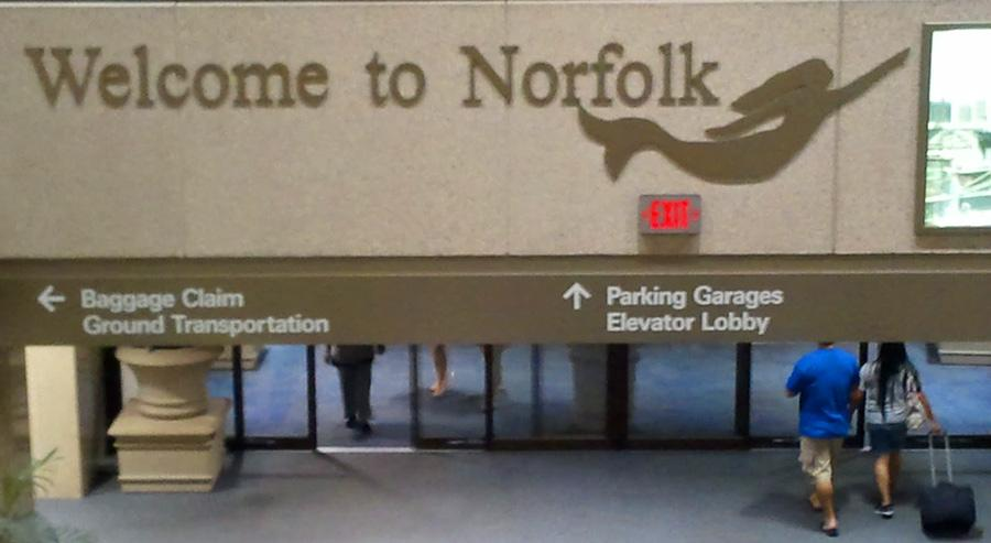 Norfolk airport (ORF)