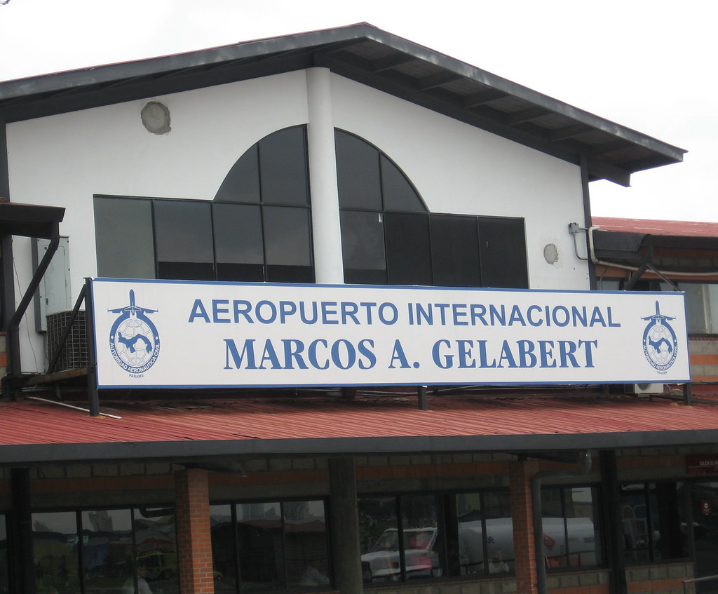 Marcos Gelabert Panama City airport (PAC)