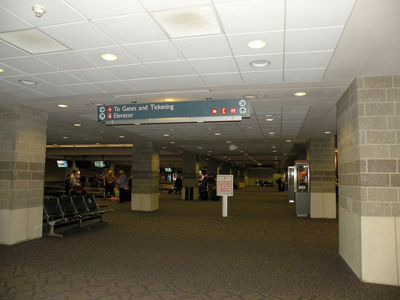 Providence airport (PVD)