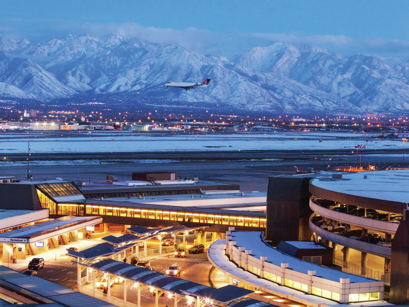 Salt Lake City airport (SLC)