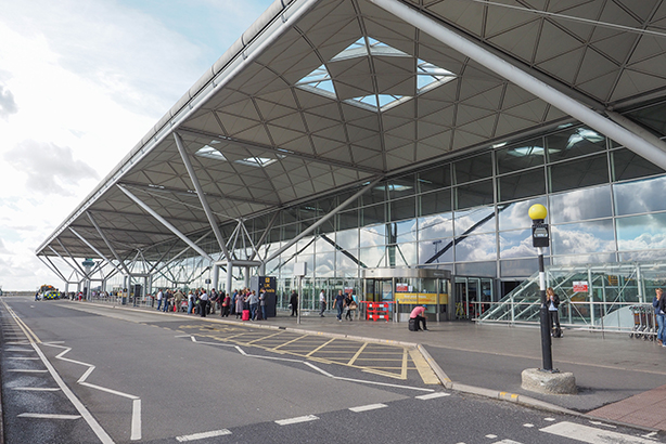 London-Stansted airport (STN)